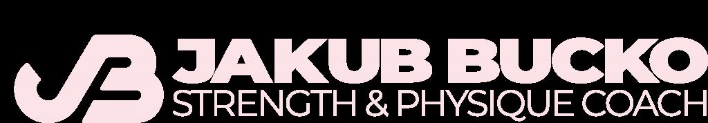 logo - jakubucko.com STRENGTH & PHYSIQUE COACH